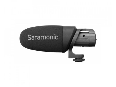 Saramonic Cammic+ On-Camera Battery-Powered Shotgun Microphone Audio Wired Shotgun Mics ENG/EFP audio
