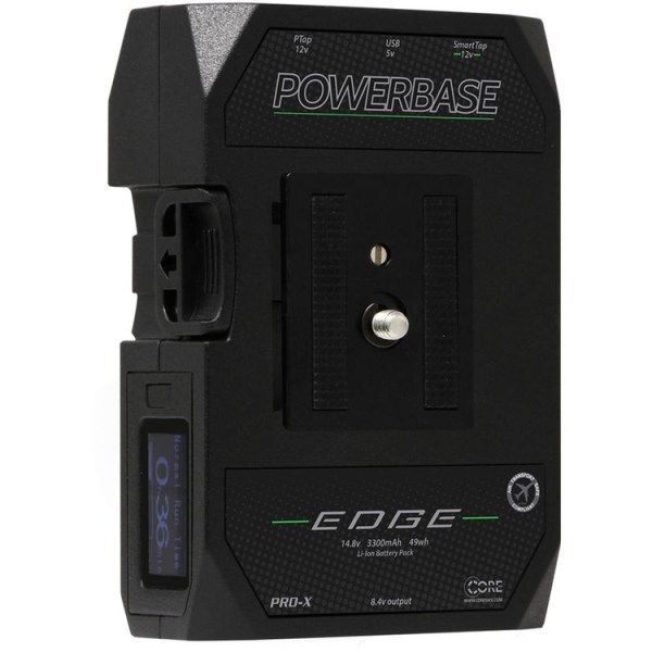 Core SWX Powerbase EDGE Battery for Blackmagic Pocket Camera 4K & 6K Batteries & Power All Accessories & Cable