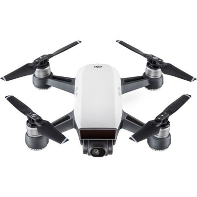 DJI Spark Quadcopter (Alpine White) Drones & Aerial Imaging Action & Drone Camera's