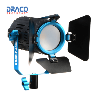 Dracast BoltRay LED400 Bi-Color Light Fresnel Light Draco Broadcast