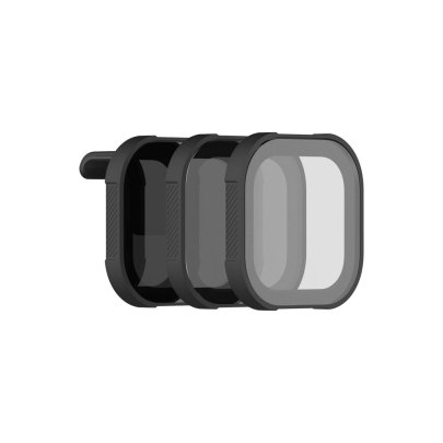 PolarPro Shutter Collection ND Filter Set for HERO8 Black (Set of 3) Action & 360 Video Camera GoPro