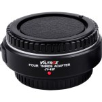 Viltrox JY-43F-B Lens Mount Adapter for Four Thirds-Mount Lens Lens Accessories [tag]