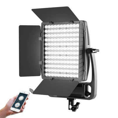 GVM LT 50S Bi-Color Dimmable LED Video Light Panel Continuous Lighting GVM