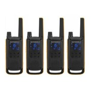 Motorola Talkabout T82 Extreme PMR446 2-Way Walkie Talkie Radio Quad Pack 2-Way Radios Motorola