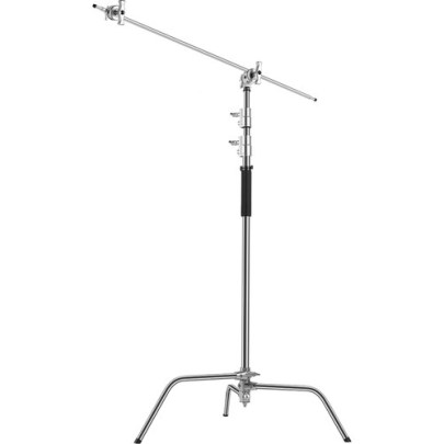 GVM C330 Turtle-Base C-Stand & Grip Arm Kit (10.5′) Light Stands GVM