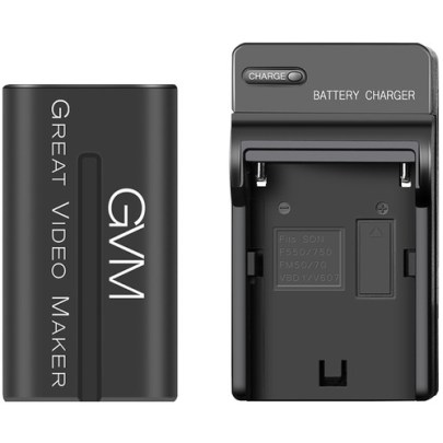 GVM 6600mAh Battery with Travel Charger Batteries & Power GVM
