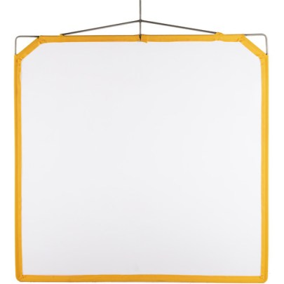 Matthews Solid Frame Scrim White Artificial Silk (48 x 48″) Light Modifiers MATTHEWS