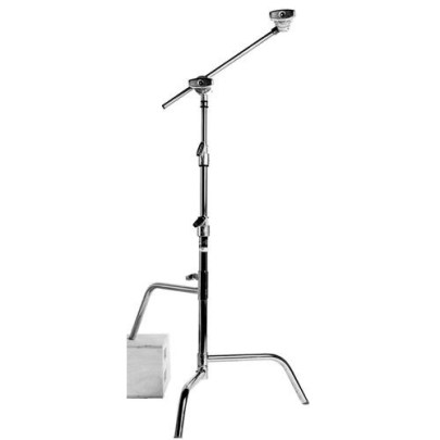 Matthews Hollywood Century C Stand with Arm & Grip Head – 5.25′ (1.6m) Light Stands MATTHEWS