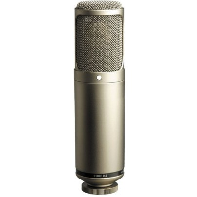 Rode K2 – Variable Pattern Studio Tube Condenser Microphone Dynamic Recording Microphones Rode