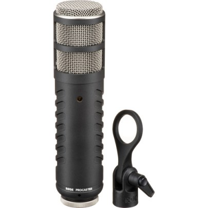 Rode Procaster Broadcast-Quality Dynamic Microphone Large Diaphragm Recording Microphones Rode