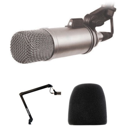 Rode Broadcaster Voice-Over Microphone Kit Large Diaphragm Recording Microphones Rode