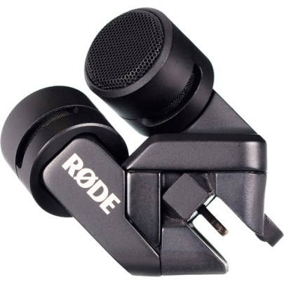 Rode iXY Stereo Microphone (Lightning Connector) Microphones for iOS & Android Devices Rode