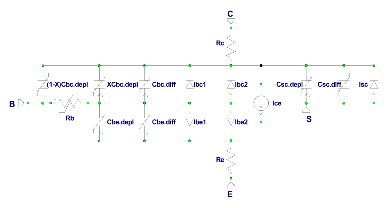 hight resolution of equivalent circuit vertical