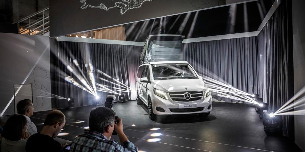 Mercedes-Benz Marco Polo Weltpremiere am 28.08.2014 in Düsseldorf