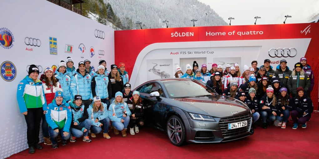 Audi startet in Soelden in alpine WM-Saison