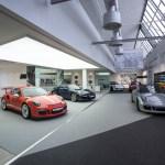 Im Herbst 2015 wurde die Porsche Werksabholung in Zuffenhausen neu gestaltet