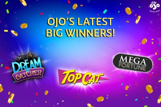 OJO's Jackpot Winners