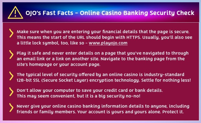 ojo banking security check