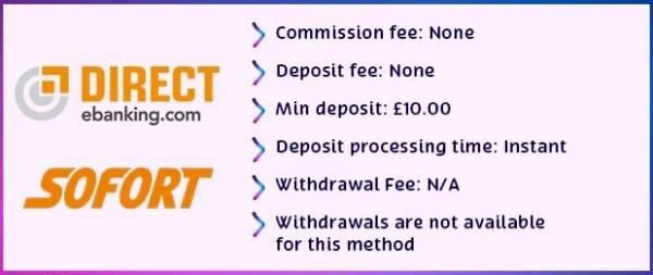 directbanking details