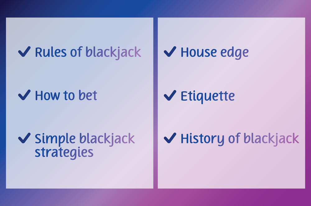 what you have learned in OJO blackjack guide
