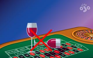 Roulette etiquette in a casino