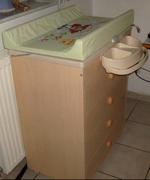 Commode Baignoire Table A Langer Neonato