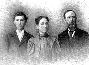 G. H. Baber e família, 1899