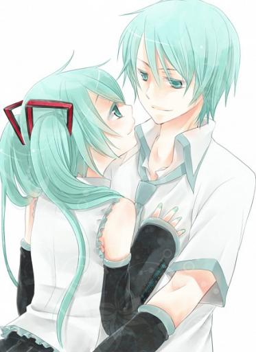 Wallpaper Love Boy And Girl Hatsune Love Vocaloid2blog