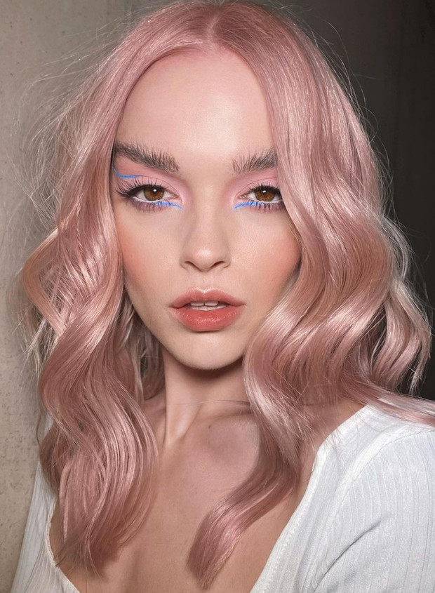 Plus, pearl pink is a trend tint this 2021!