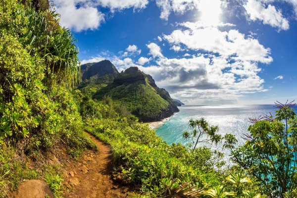 Kalalau Trail Kauai Hawaii