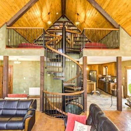 Two Story Multi Story Spiral Staircases Paragon Stairs | Spiral Staircase 2 Floors | 8 Ft | Interesting | Spiral Shaped | Outdoor | Wooden