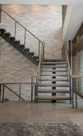 Wood Staircases Straight Spiral Paragon Stairs   Wood And Metal Staircase Design   Staircase Ss Handrail   Steel   Modern   Rustic   Fabrication