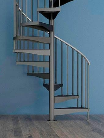 Staircase Designs For Every Project Budget Paragon Stairs | Spiral Staircase Los Angeles | Loft | Handrail | 42 Inch | Romantic | Double Spiral