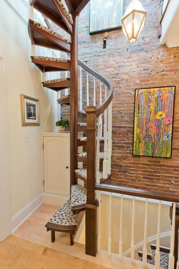 Wood Spiral Stair Gallery Discover New Styles And Ideas