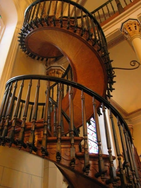 The World S 5 Most Famous Staircases   Self Supporting Spiral Staircase   Staircase Design   London Uk   Stair Case   Santa Fe   Risers