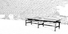 Mid Century Style Bench Gallery Sketchup Community