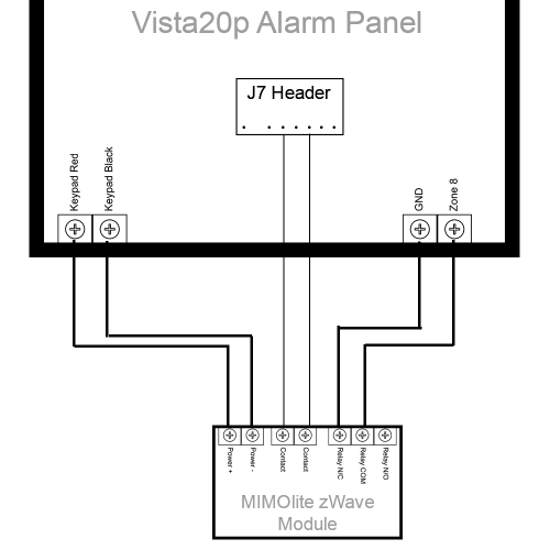 small resolution of wiring diagram for a honeywell vista20p panel