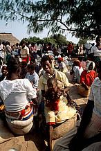 Food Aid for Mozambique Bazaruto Island, Mozambique © Frederick J. Weyerhaeuser / WWF-Canon