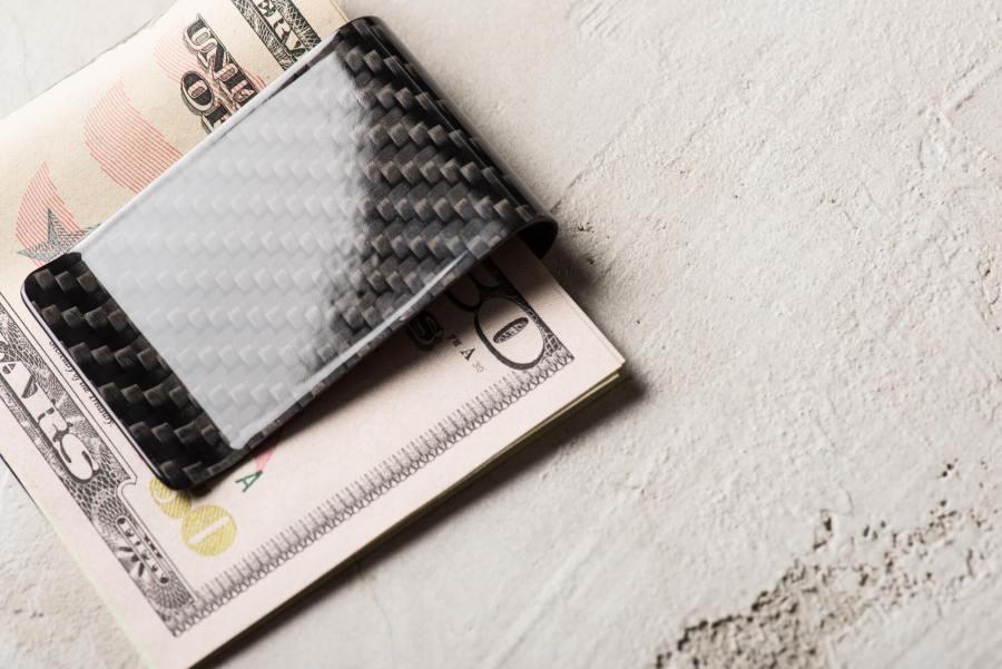 正 碳纖維 鈔票夾