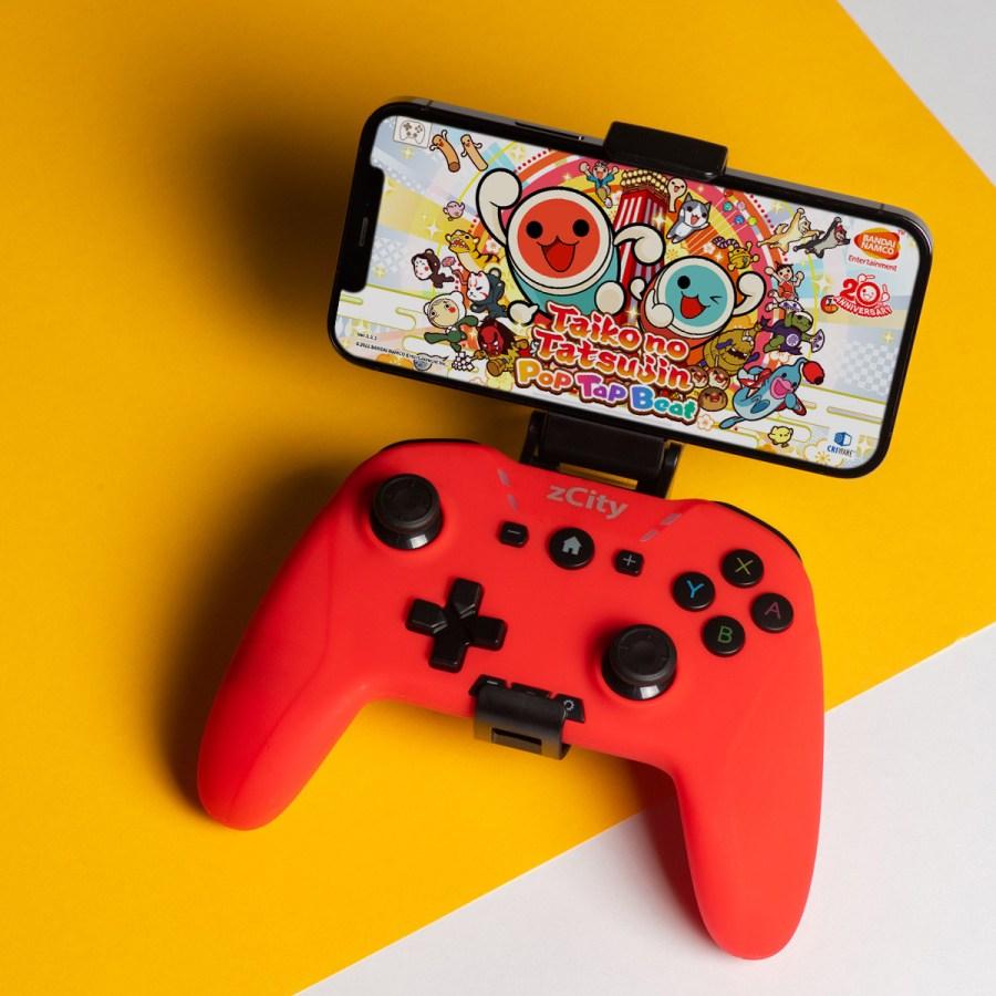 zCity 颶風搖桿 Nintendo Switch 自動連發 喚醒 iOS iPhone Android 手機搖桿 巨集 自動 控制器 手把