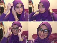 Tutorial Hijab Untuk Yang Berkacamata