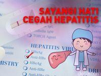 Begini Cara Mencegah Agar Hepatitis Tak Mudah Menular