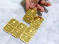 Naik Goceng, Emas Antam Dijual Rp 662.000/Gram