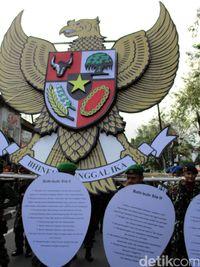 Bhineka Tunggal Ika Memiliki Makna : bhineka, tunggal, memiliki, makna, Makna, Garuda, Pancasila,, Lambang, Negara