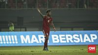Stefano Lilipaly memecah kebuntuan Timnas Indonesia U-23 ketika berhadapan dengan Taiwan.