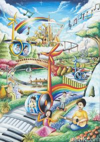 Toyota Buat Mobil Khayalan Ciptaan Anak Indonesia