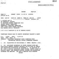 Dokumen Rahasia AS: Prabowo Perintahkan Penghilangan Aktivis 1998