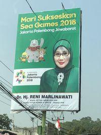 Spanduk Sea Games 2018 : spanduk, games, Viral, Baliho, Anggota, Salah, Tulis, Asian, Games