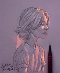 Lukisan Pensil Keren : lukisan, pensil, keren, Keren!, Lukisan, Sketsa, Pensil, Tampak, Bercahaya