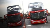 TransJakarta Spesial untuk Arak-arakan Juara Persija